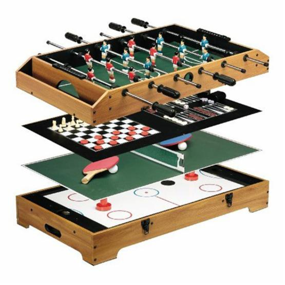 Franklin Sports 36 in. Deluxe 6-in-1 Table Top Game Center
