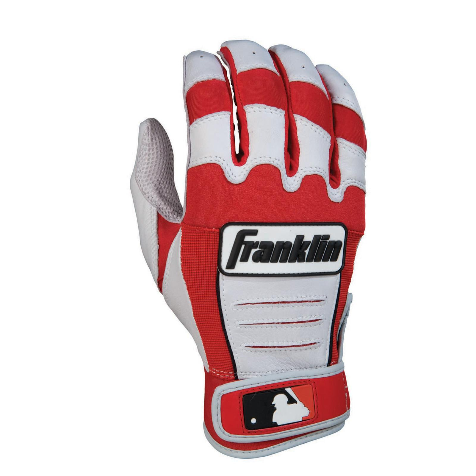 Franklin CFX Pro Series Adult Batting Gloves - Pearl/Red ...
