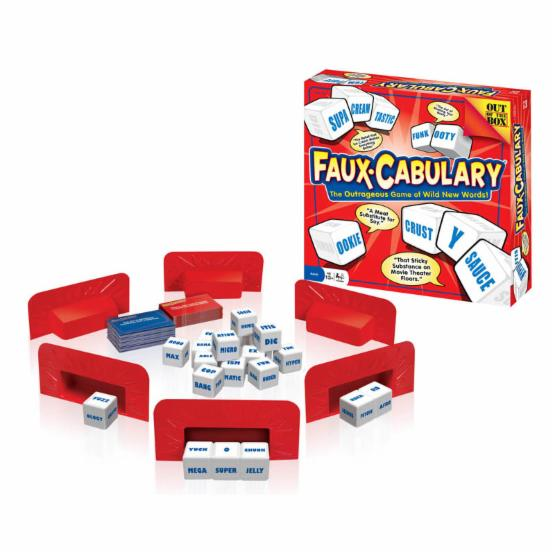 Faux Cabulary Board Game