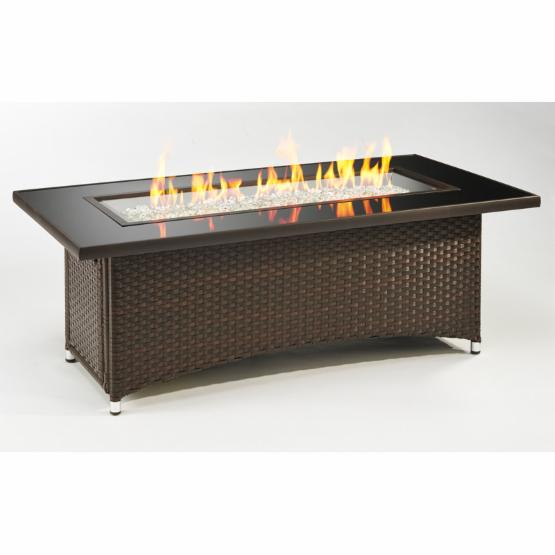 Outdoor GreatRoom Montego Balsam Fire Pit Table with Free Burner Cover
