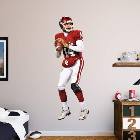 Fathead NCAA Oklahoma Sooners Sam Bradford Wall Decal