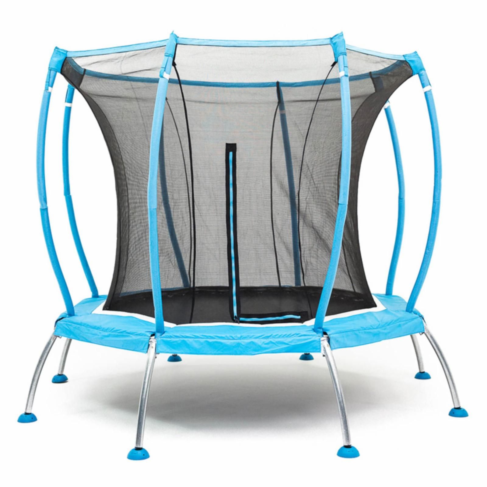 SkyBound Atmos 8 ft. Trampoline with Full Safety Net Enclosure System - SB-T08ATM02