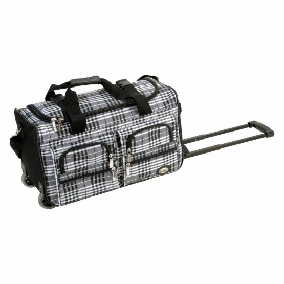 Rockland Luggage Cross 22 in. Rolling Duffel Bag