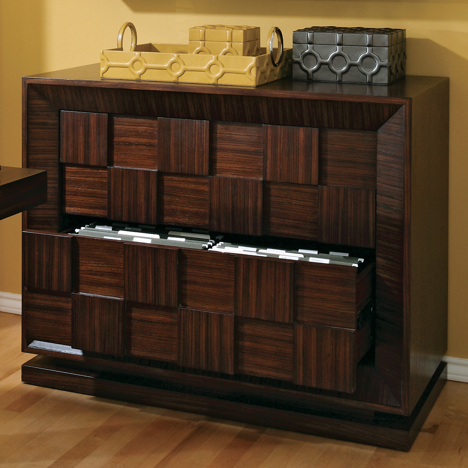 Furniture Office 1 Lorell 2 Drawer Mobile File Cabinet