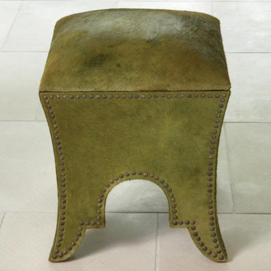 Global Views Grinch Proof Foot Stool - Green