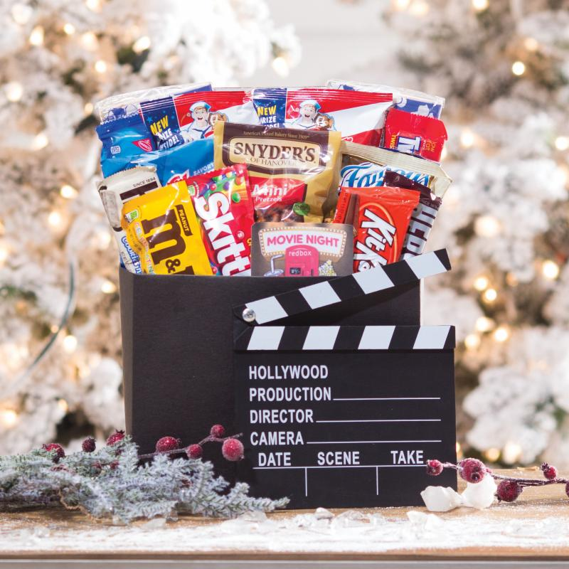 Family Flix Movie Night Gift Box with Red Box Gift Card - 820652