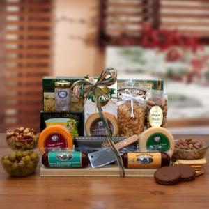 Ultimate Gourmet Nut & Sausage Gift Board