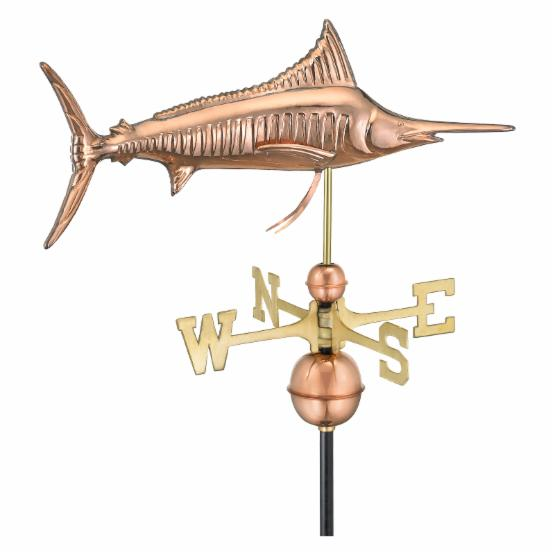 Good Directions Marlin Weathervane