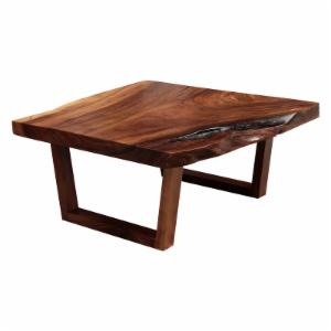 REZ Furniture Live Edge Wood Coffee Table