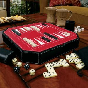 Mainstreet Classics Octagon 5-in-1 Game Set