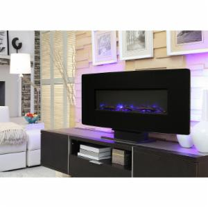 Muskoka Curved Front Wall Mount Electric Fireplace