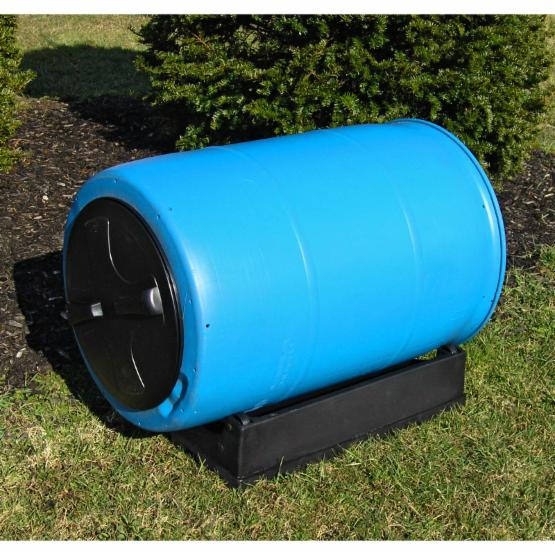 Good Ideas 55 Gallon Compost Wizard Recycled Plastic Compost Tumbler