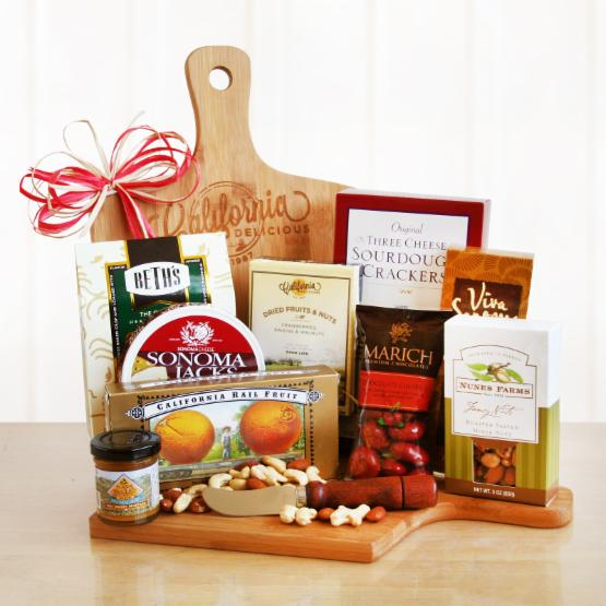 Gourmet Cutting Board Gift Set by California Delicious