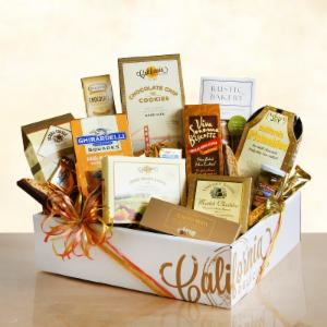 Artisanal Gourmet Gift Crate by California Delicious