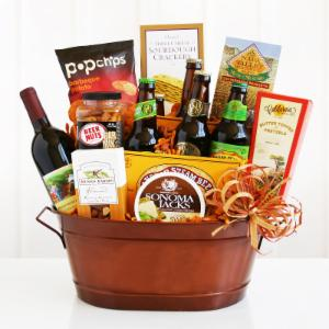 Get the Party Started Gift Basket