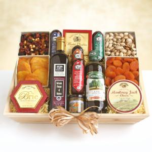 California Best of the Valley Gourmet Gift Crate by California Delicious