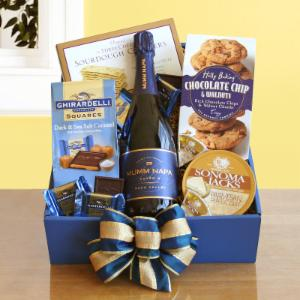 Magical Mumm's Napa Valley Gift Basket by California Delicious
