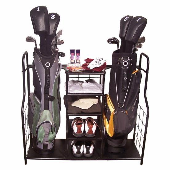 Golf, Gifts and Gallery Black Golf Bag Organizer