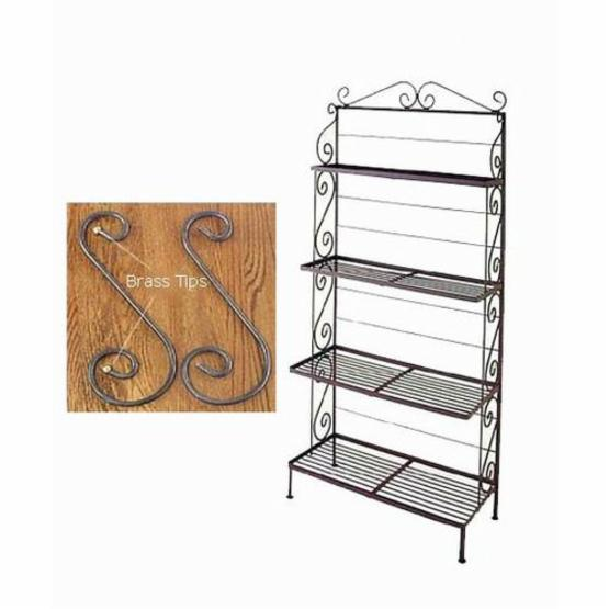 30 Inch Antique Bakers Rack