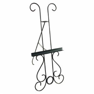 New Orleans Wrought Iron Picture Display Easel