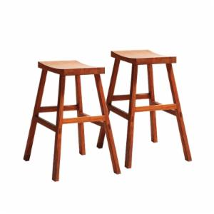 Greenington 26 in. Holly Bamboo Counter Height Stools - Set of 2