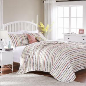 Greenland Home Fashions Bella Ruffle - 2 Piece Quilt Set