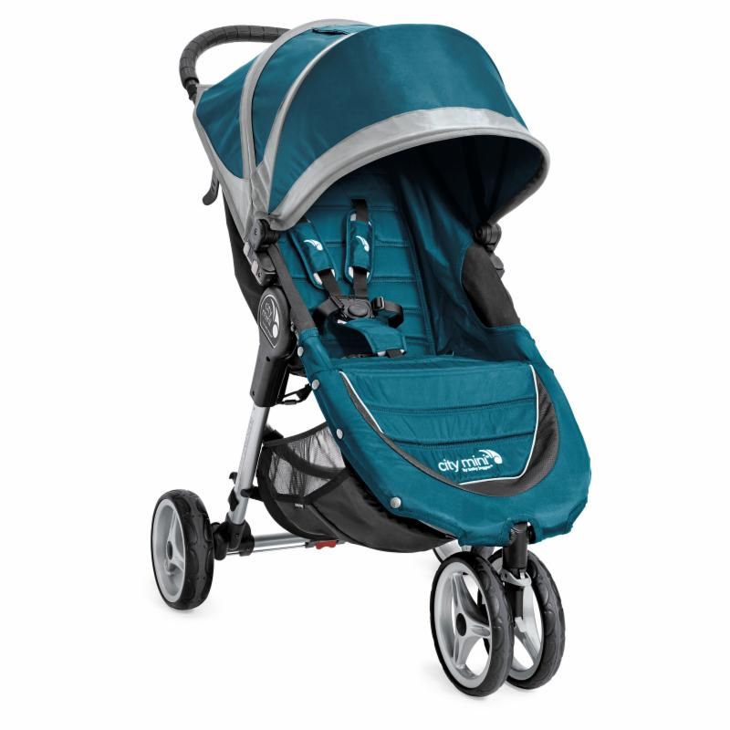 Baby Jogger City Mini 3W Single Stroller - Teal/Gray - 19...