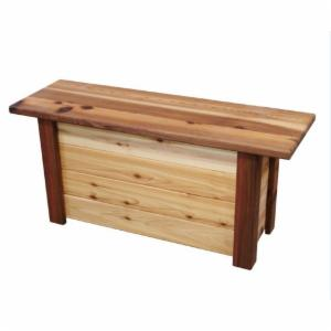 Gronomics Cedar 46 in. Backless Storage Bench