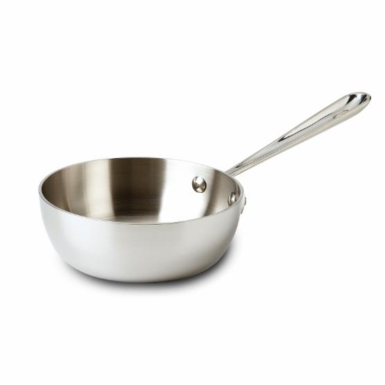 All-Clad Tri-Ply Stainless Steel 1-qt. Saucier