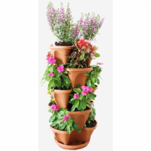 Natures Distributing 12 in 5 Tier Stacking Planters