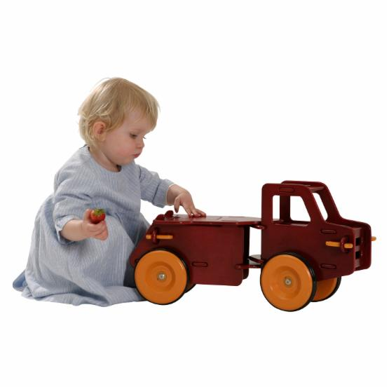 Haba Moover Dump Truck Riding Push Toy