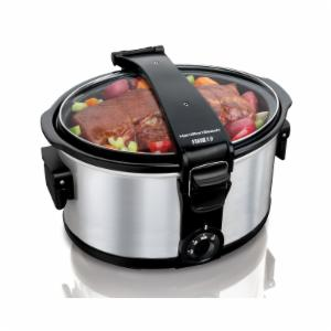 Hamilton Beach Stay or Go 7 qt. Portable Slow Cooker