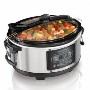 Hamilton Beach Stay or Go 5 qt. Programmable Slow Cooker