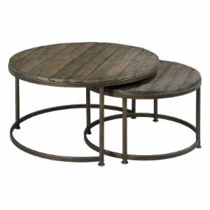 Hammary Leone Round Nesting Cocktail Tables