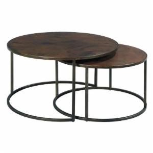 Hammary Sanford Round Nesting Cocktail Tables