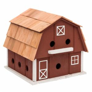 Home Bazaar Lancaster County Purple Barn Bird House