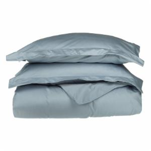 Superior 530TC Long-Staple Combed Cotton Solid Sateen Weave Duvet Cover Set