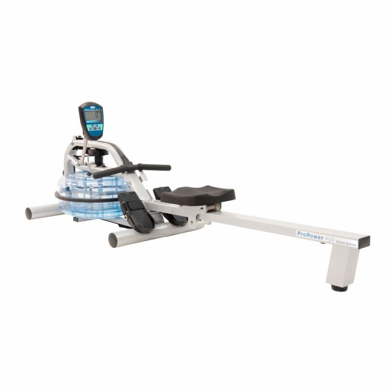 H2O Fitness RX-750 ProRower Home Series Water Rowing Mach...
