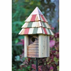Heartwood Vintage Gatehouse Bird House - Antique Cypress