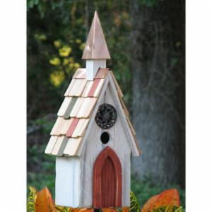 Heartwood Jubilee Bird House - White