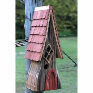 Heartwood Ye Olde Bird House - Antique Cypress