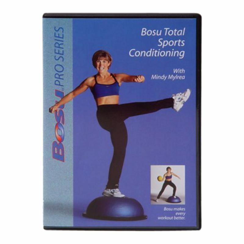 Bosu Total Sports Conditioning DVD with Mindy Mylrea - 72...