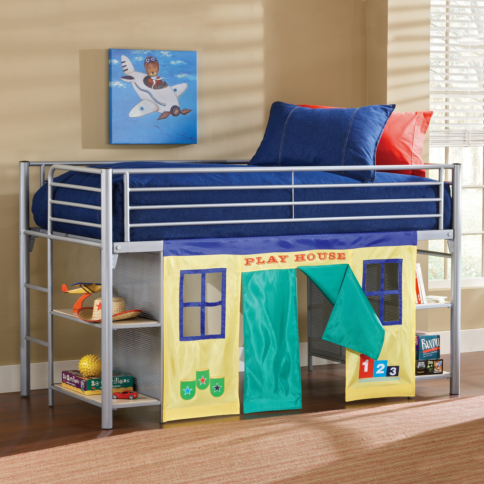 Bunk beds with slide and tent - Bunk Beds With Slide And Tent 34