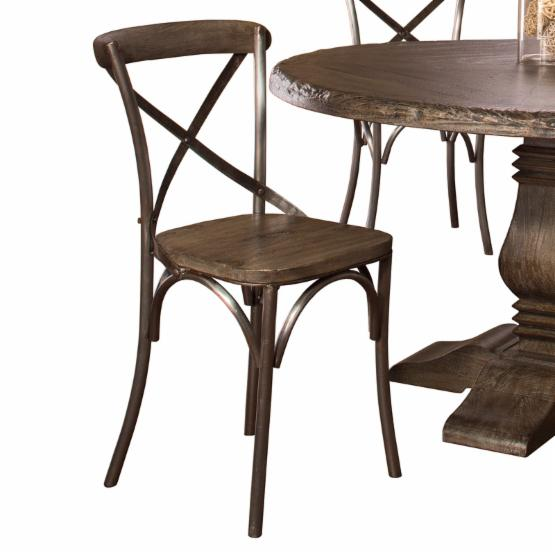 Hillsdale Lorient X Back Dining Chair - Set of 2