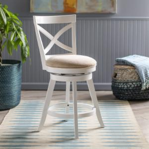 Finley Home Marlo 25 in. Counter Stool