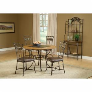 Hillsdale Furniture Lakeview 5 Piece Round Dining Table Set