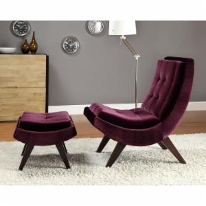 purple accent chairs on hayneedle - purple living room chairs