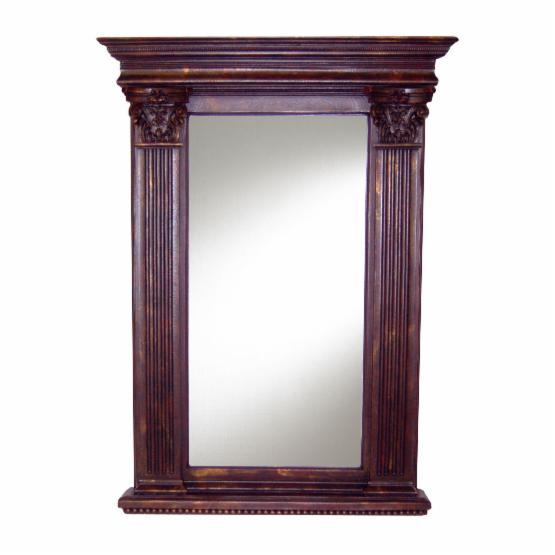 Hickory Manor House Napoleon Mirror - 33.5W x 45H in.