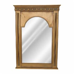 Hickory Manor House Beaded Dart Wall Mirror - 30.75W x 43.5H in.