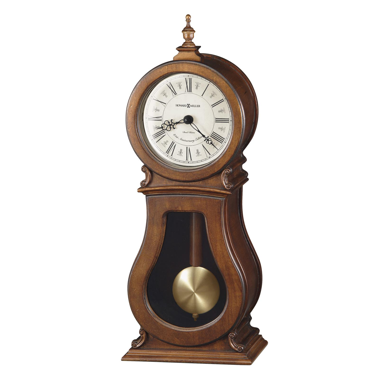 frank lloyd wright collection willits mantel clock by bulova hayneedle - Howard Miller Mantel Clock